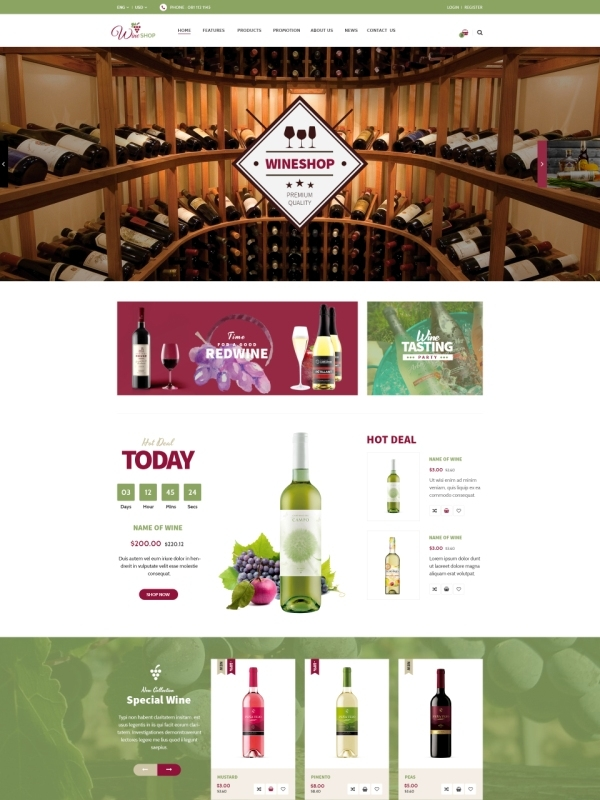 Vina Fobe - Multipurpose Responsive VirtueMart Template