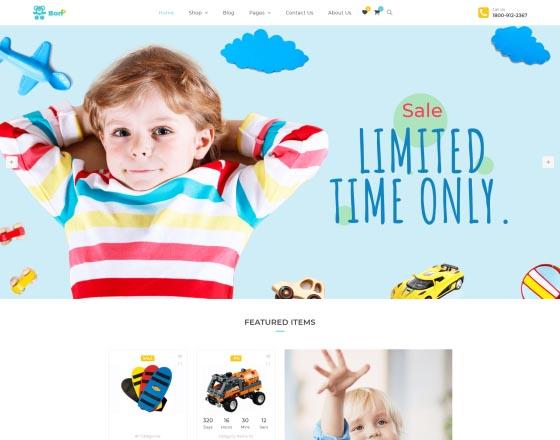 e21a50469 Bonbon - Baby Shop, Kids Store WooCommerce Theme