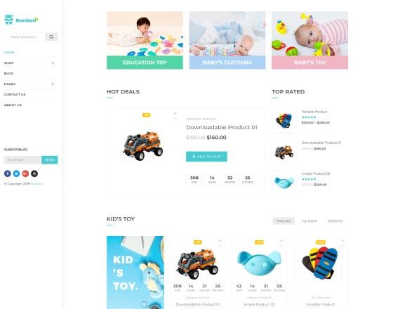 2445958a9e15 Bonbon - Baby Shop, Kids Store WooCommerce Theme