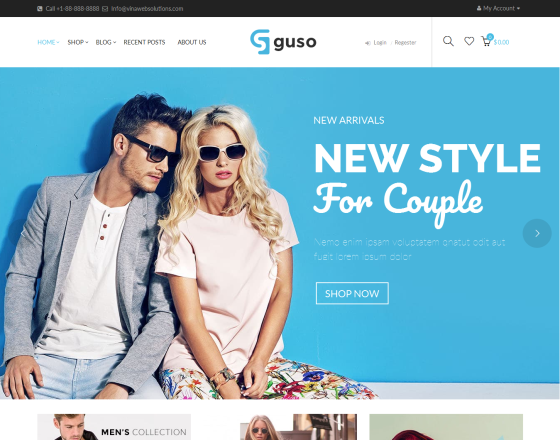 VG Guso - Fashion WooCommerce WordPress Theme