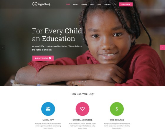 vina charity responsive joomla template for charity