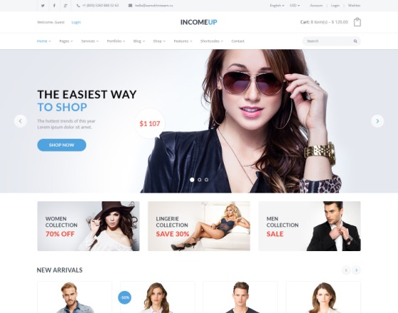 Incomeup multipurpose business joomla template flashek Gallery