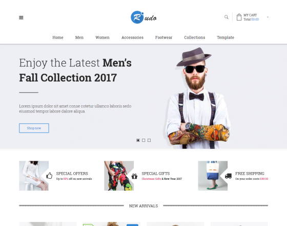 Vina Rudo - Multipurpose Virtuemart Joomla Template