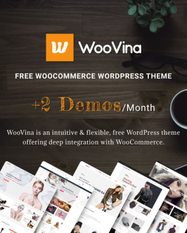 WooVina - Free WooCommerce WordPress Theme