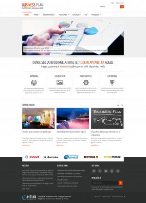 Business Plan II - Free Responsive Business Joomla Template
