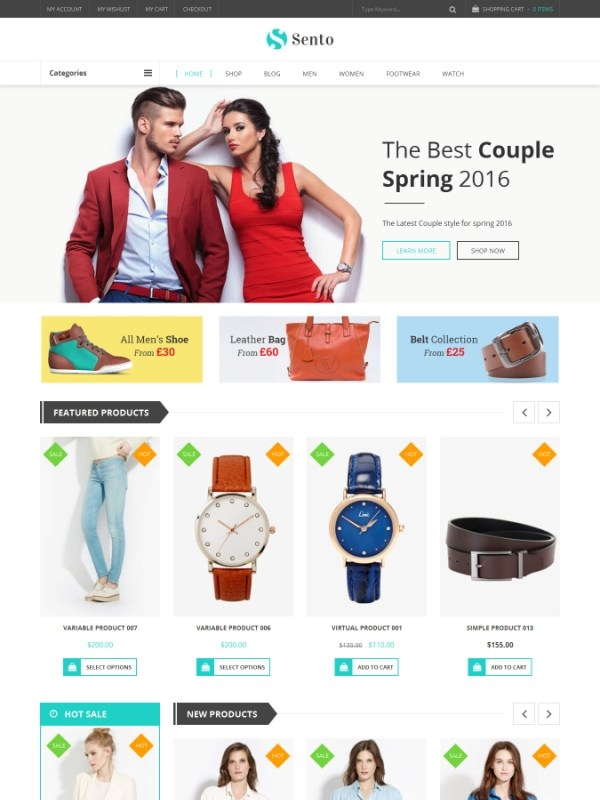 VG Sento - eCommerce WordPress Theme for Fashion Store